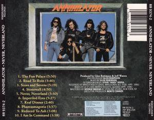 Annihilator: Never, Neverland (CD) - Bild 3