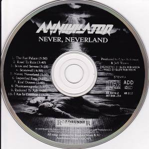 Annihilator: Never, Neverland (CD) - Bild 4