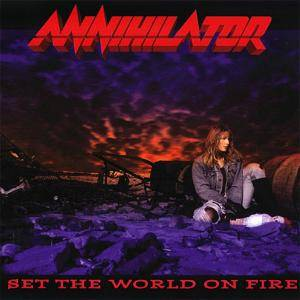 Annihilator: Set The World On Fire (CD) - Bild 1