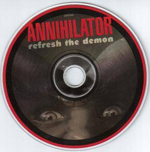 Annihilator: Refresh The Demon (CD) - Bild 3