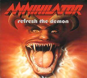 Annihilator: Refresh The Demon (CD) - Bild 1