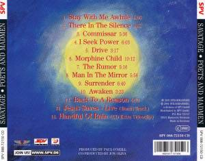 Savatage: Poets And Madmen (CD) - Bild 7