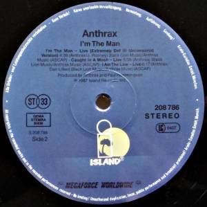 "Anthrax: I'm The Man (12"") - Bild 4"