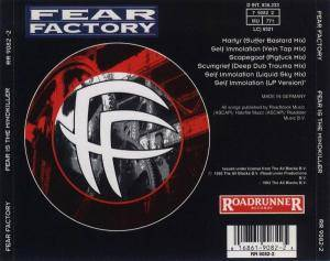 Fear Factory: Fear Is The Mindkiller (Mini-CD / EP) - Bild 2