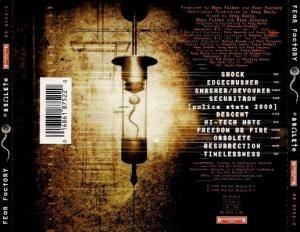 Fear Factory: Obsolete (CD) - Bild 2