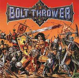 Bolt Thrower: War Master - Cover