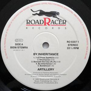 Artillery: By Inheritance (LP) - Bild 3