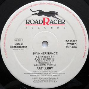 Artillery: By Inheritance (LP) - Bild 4