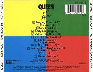Queen: Hot Space (CD) - Bild 2