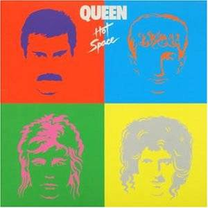 Queen: Hot Space - Cover