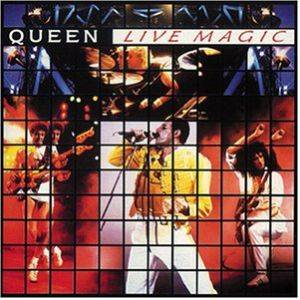 Queen: Live Magic - Cover