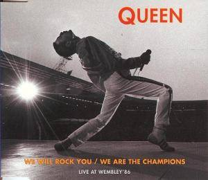 Queen: We Will Rock You / We Are The Champions (Live At Wembley) - Cover