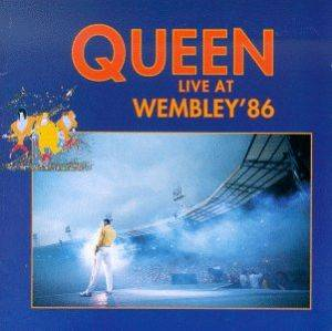Queen: Live At Wembley '86 - Cover