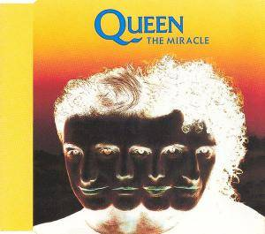 Queen: Miracle, The - Cover