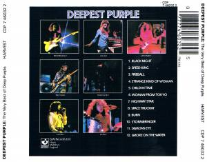 Deep Purple: Deepest Purple - The Very Best Of Deep Purple (CD) - Bild 5