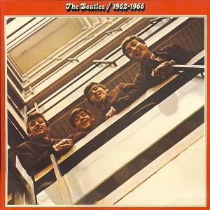 The Beatles: 1962-1966 - Cover
