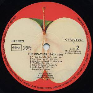 The Beatles: 1962-1966 (2-LP) - Bild 5