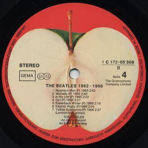 The Beatles: 1962-1966 (2-LP) - Bild 7