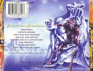Iron Maiden: Seventh Son Of A Seventh Son (CD) - Bild 2