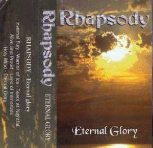 Rhapsody: Eternal Glory - Cover