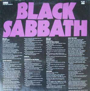 Black Sabbath: Master Of Reality (LP) - Bild 2
