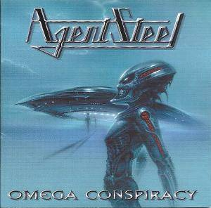 Agent Steel: Omega Conspiracy - Cover