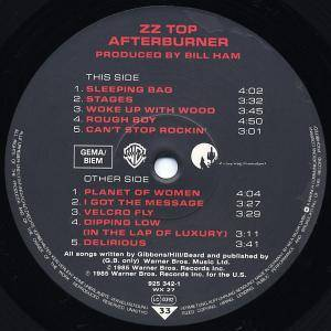 ZZ Top: Afterburner (LP) - Bild 2