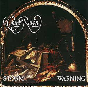 Count Raven: Storm Warning - Cover