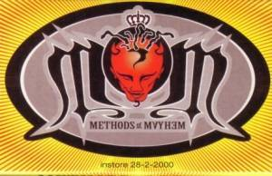 Methods Of Mayhem: Methods Of Mayhem - Cover
