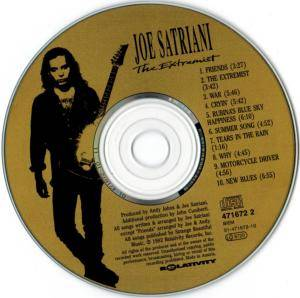 Joe Satriani: The Extremist (CD) - Bild 5