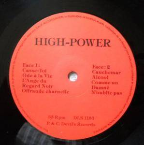 High Power: High Power (LP) - Bild 2