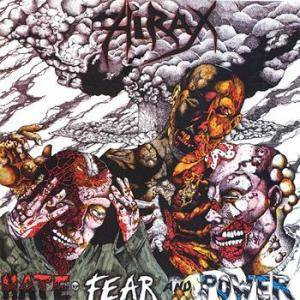 Cover - Hirax: Hate, Fear And Power