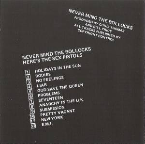 Sex Pistols: Never Mind The Bollocks Here's The Sex Pistols (CD) - Bild 4