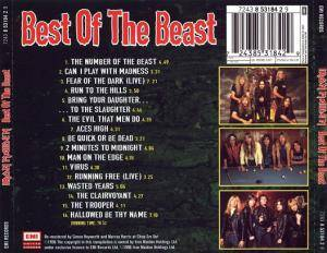 Iron Maiden: Best Of The Beast (CD) - Bild 2