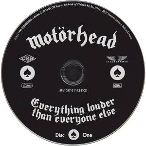 Motörhead: Everything Louder Than Everyone Else (2-CD) - Bild 3