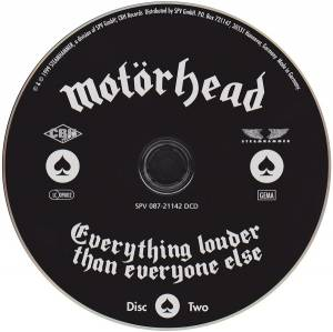 Motörhead: Everything Louder Than Everyone Else (2-CD) - Bild 4