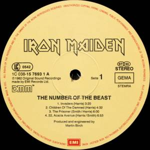 Iron Maiden: The Number Of The Beast (LP) - Bild 5