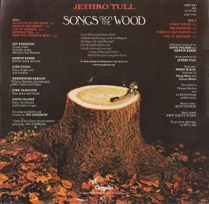 Jethro Tull: Songs From The Wood (LP) - Bild 2