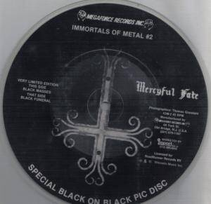 "Mercyful Fate: Black Funeral (PIC-7"") - Bild 2"