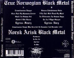 Darkthrone: Transilvanian Hunger (CD) - Bild 2