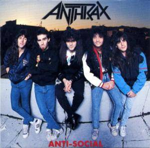 Anthrax: Anti-Social - Cover