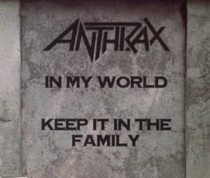 Anthrax: In My World - Cover