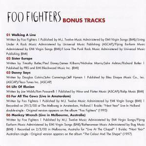 Foo Fighters: One By One (CD) - Bild 2