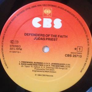 Judas Priest: Defenders Of The Faith (LP) - Bild 3