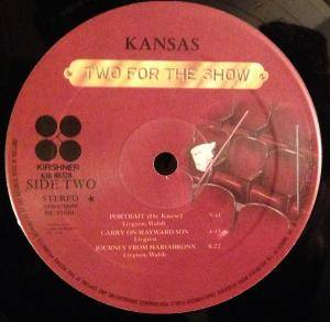 Kansas: Two For The Show (2-LP) - Bild 8
