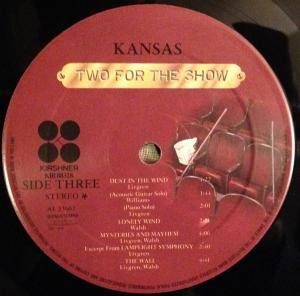 Kansas: Two For The Show (2-LP) - Bild 9