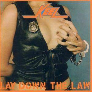 Cover - Keel: Lay Down The Law