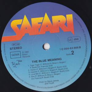 Toyah: The Blue Meaning (LP) - Bild 3