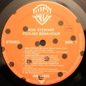 Rod Stewart: Foolish Behaviour (LP) - Bild 5