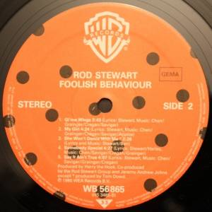 Rod Stewart: Foolish Behaviour (LP) - Bild 6